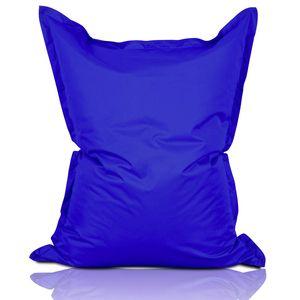 Lumaland Luxury Riesensitzsack XXL Sitzsack 380l Füllung 140 x 180 cm Indoor Outdoor Royalblau