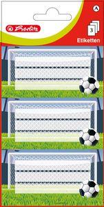 Herlitz Buchetiketten Fussball 78 x 42 mm