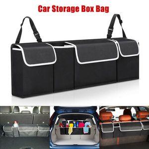 Autotasche Kofferraumtasche Auto Kofferraum Tasche Organizer Oxford Schwarz