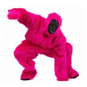 Kostüm Gorilla pink, Affenkostüm, Größe:M