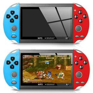 """X7 8GB Mini Handheld Spielkonsole Retro Game Console 300 Spiele MP4 Drahtlose Gamecontroller 4.3"""" Video Game Consoles für Kinder Erwachsene"""