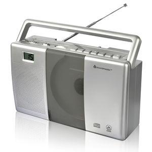 Soundmaster RCD1180 UKW-Kofferrradio, CD-Player, Hörbuchfunktion
