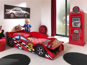 Vipack Autobett Race Car 70 x 140 Rot