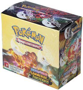 Pokemon SWSH03 Flammende Finsternis Display mit 36 Booster Packs