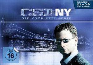 CSI: NY - Komplettbox - Season 1-9