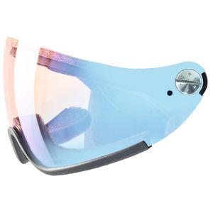 Uvex HLMT 300 visor Variomatic-litemirror blue Ersatzscheibe für Visier Skihelm