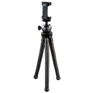 Hama FlexPro, Smartphone/Action camera, 3 Bein(e), 27 cm, Schwarz, 16 cm, Ball