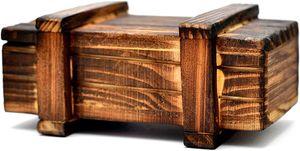 Magische Räteselbox mit geheimfach für keine Geschenke, Geld, Gutscheine etc.