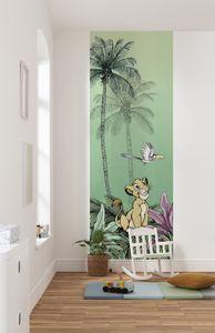"Komar Vlies Fototapete ""Jungle Simba"" - Größe: 100 x 280 cm (Breite x Höhe), 2 Bahnen"