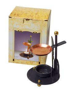 Aroma- und Räucherlampe COPPER DREAM - raucharm dank Teelicht