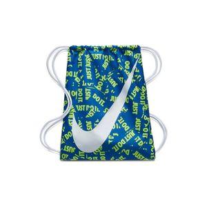 Nike Sportbeutel Gymbag NIKE GRAPHIC GYMSACK blau weiß