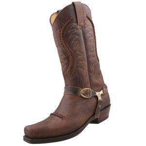 Sendra Cowboystiefel 3434 Braun, Schuhgröße:EUR 42