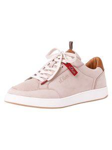 s.Oliver Herren Sneaker beige 5-5-13607-26 Größe: 43 EU