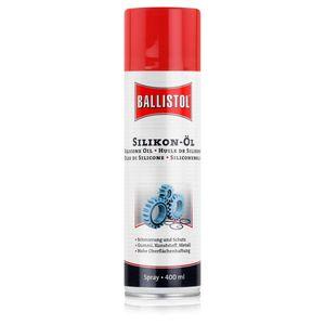 Ballistol Silikon-Öl Spray 400ml - Gegen Quietsch- und Knarrgeräusche (1er Pack)