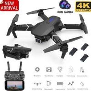 (5G WiFi 4K HD 3Batterien) HDEachine E520S GPS WIFI FPV mit HD Kamera 16mins Flugzeit Faltbare RC Drohne Quadcopter