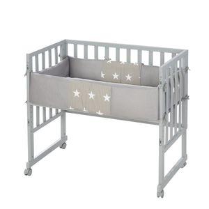 Stuben- & Beistellbett 3in1 mit Barriere Little Stars
