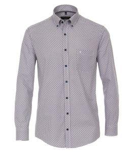 Casa Moda - Casual Fit - Herren Freizeit Hemd mit Button Down Kragen (413591400), Größe:XXL, Farbe:Blau (100)