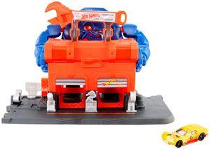 Hot Wheels Gorilla-Angriff Werkstatt Spielset inkl. 1 Spielzeugauto