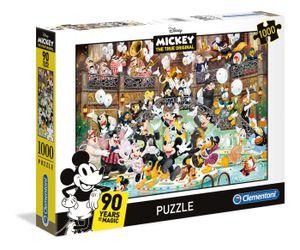 Clementoni 39472 Mickey 90 Jahre Celebration, 1000 Teile Puzzle