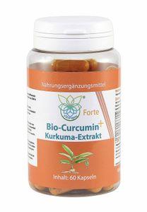 VITARAGNA® Curcumin Forte, 60 Kurkuma Kapseln hochdosiert mit Kurkuma-Extrakt, BioPerine, Ingwer-Extrakt, Hochdosiertes Curcuma Bioperin (Schwarzer-Pfeffer)