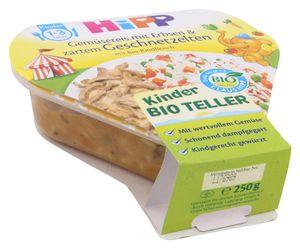 Hipp Gemüsereis mit Erbsen & zartem Geschnetzelten (250 g)