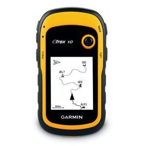 Garmin eTrex 10 Outdoor Navigationsgerät gelb/schwarz