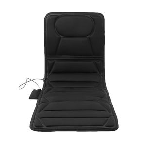 JEOBEST Massagesitzauflage  Massagematte mit Wärmefunktion   Massagesitz   überall einsetzbar-schwarz