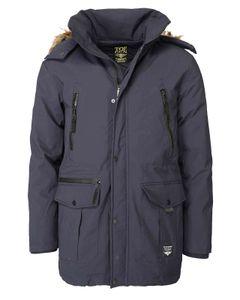Top Gun Herren Parka Winter Jacke Lang Coat TGJ1920 navy-1502 XXL
