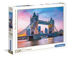 Clementoni puzzle mit Tower Bridge1500 Teilen