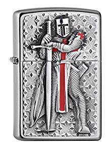 ZIPPO Feuerzeug 2005918 Templer II Emblem Kreuzritter Crusader