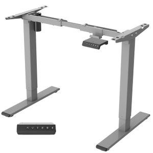 Flexispot E1S Höhenverstellbarer Schreibtisch Elektrisch höhenverstellbares Tischgestell 2-Fach-Teleskop, mit Memory-Steuerung