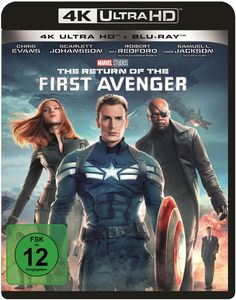 The Return of the First Avenger (4K Ultra HD + Blu-ray)