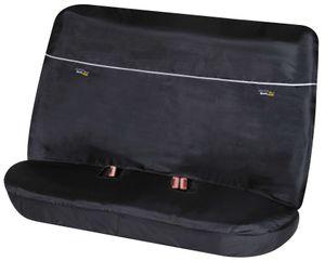 Walser Autositzbezug Outdoor Sports für Rücksitz mit Gurtöffnung schwarz, 12131