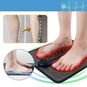 Fußmassage FußMassagegerät elektrisch Shiatsu Reflexzonen Massage Wärmefunktion-H03