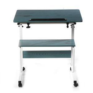 INSKER Schreibtisch Laptoptisch verstellbarer abnehmbarer Tisch Klappbarer Notebook tragbarer Schlafsofa-Computer Ständer