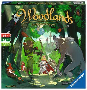 Ravensburger Woodlands - Das fabelhafte Legespiel