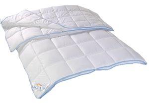 PROCAVE TopCool 4 Jahreszeiten Qualitäts-Bettdecke mit Druckknöpfen 240x220 cm  für Winter und Sommer - Soft-Komfort-Bettdecke, kochfeste Steppdecke - hergestellt in Deutschland