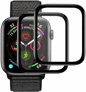 2x 3D Schutzglas für Apple Watch Series 6 / SE - 40 mm Panzerfolie Full CURVED 9H