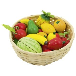 Obst im Korb, per Set