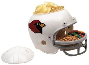 NFL Football Snack Helm der Arizona Cardinals für jede Footballparty
