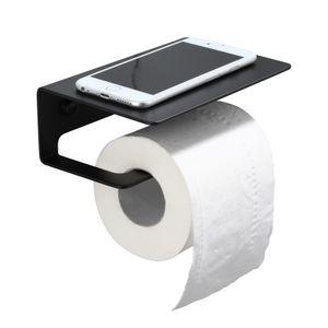 Meykoers Toilettenpapierhalter Küchenrollenhalter ohne Bohren Wandrollenhalter Papierrollenhalter Edelstahl