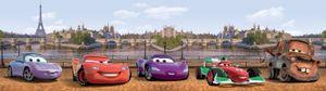 Cars Selbstklebende Fototapete Poster-Tapete Bordüre - Cars (500 x 10 cm)