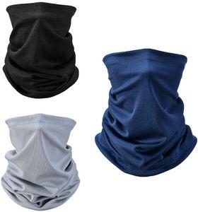 Multifunktionstuch, 3 Stücks Halstuch Schlauchtuch Atmungsaktiv, Mundschutz Tuch Multifunktion Stirnband Herren/Damen