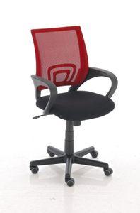 Bürostuhl CP112, Bürosessel Drehstuhl  rot