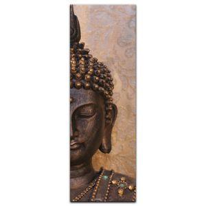 Leinwandbild - Buddha, Größe:30 x 90 cm