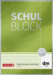 BRUNNEN 1052613 Schulblock Premium A4 dm