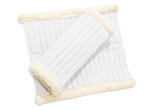 BUSSE Bandagen-Unterlagen KLETT-FUR, weiß, 28x36