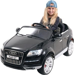 Kinder-Elektroauto Audi Q7 4L Lizenziert (Schwarz)