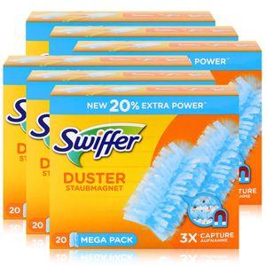 Swiffer Staubmagnet Nachfüller (20 Tücher) (6er Pack)