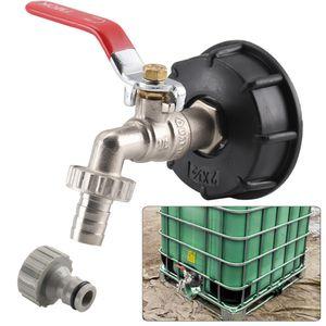 """IBC Adapter Regenwassertank 1/2"""" Gardena Anschluss für S60X6 IBC Wassertank Neu"""